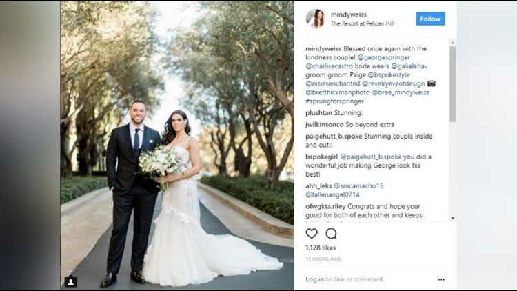 Houston Astros World Series Champion George Springer reportedly tied the knot over the weekend to the beautiful leading lady in his life, Charlise Castro.