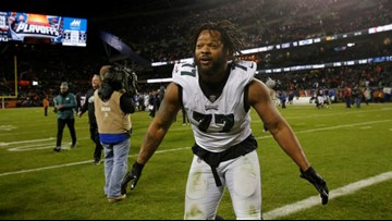 Felony charge against NFL player Michael Bennett dropped after Houston Super Bowl incident