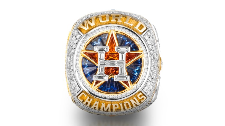The details behind the Astros' unique World Series Championship rings