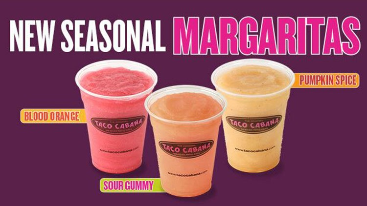 Taco Cabana introduces pumpkin spice margaritas just in time for all, y'all