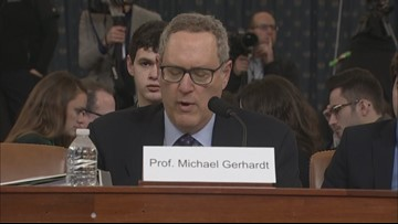 Prof. Michael Gerhardt at impeachment hearing: If Congress does not impeach Trump, then 'process has lost all meaning'