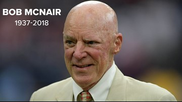 Houston Texans owner Bob McNair dies at 81
