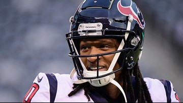 Texans' DeAndre Hopkins pledges playoff check to family of Jazmine Barnes