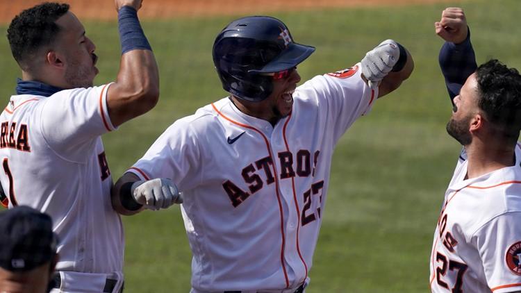 Astros will start regular season at limited capacity seating