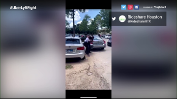 Caught on camera: Fight in Bush Airport ride-sharing lot indicative of issues, drivers say