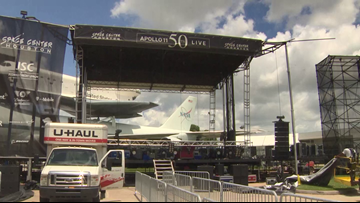 Space Center Houston prepares for record-setting crowds during Apollo 11 celebration
