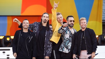 The Backstreet Boys are coming to the Houston area in October