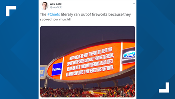 Chiefs run out of fireworks at Arrowhead Stadium after scoring 51 points on Texans