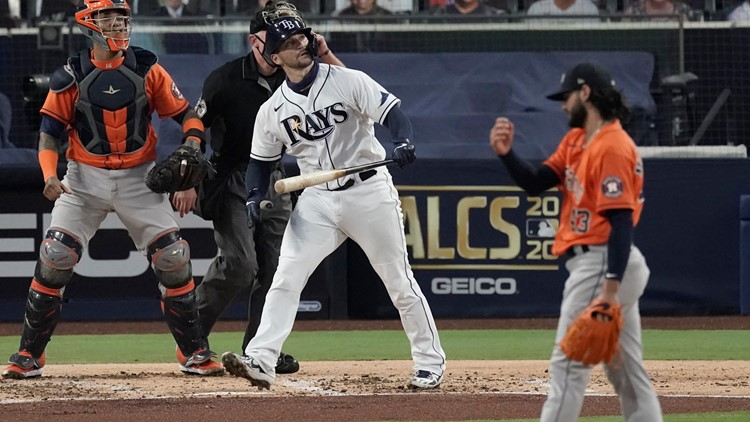 Astros' season ends with 4-2 loss to Tampa Bay in Game 7 of ALCS