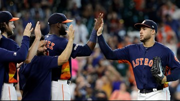Astros top Mariners 21-1 to complete four-game sweep