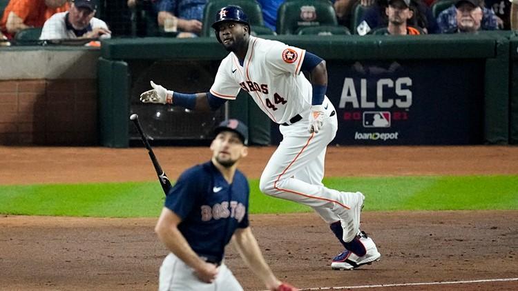 The Houston Astros are World Series-bound!