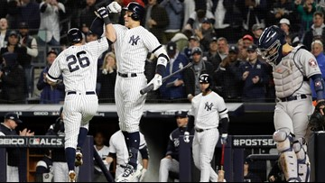 Yankees top Houston, 4-1; Astros still lead ALCS 3-2