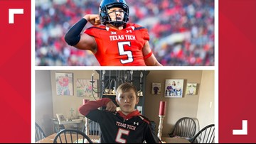 Meet the biggest little fan of Patrick Mahomes
