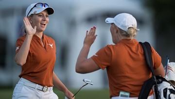 Texas women's golf earns top spot after historic season