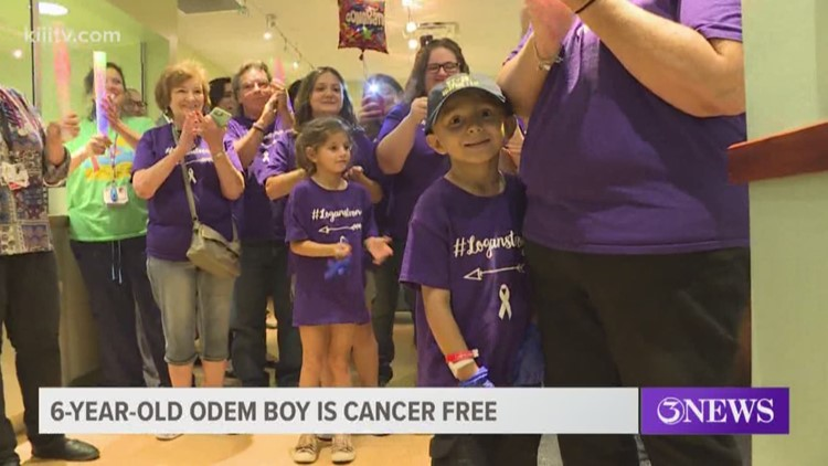 After eight months of surgeries, radiation and chemo, 6-year-old boy is cancer free