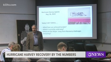 Rockport officials get update on Hurricane Harvey recovery two years later