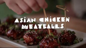 Asian Chicken Meatballs Recipe