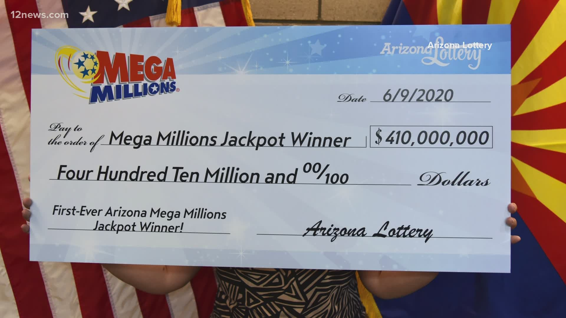 Glendale couple claims $410 million Mega Millions jackpot ...