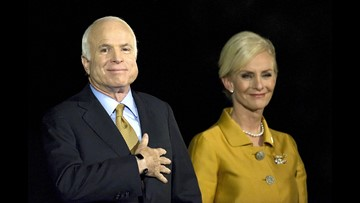 Cindy McCain on Sen. John McCain's passing: 'My heart is broken'