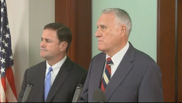 Gov. Doug Ducey announces Jon Kyl as McCain's replacement in U.S. Senate