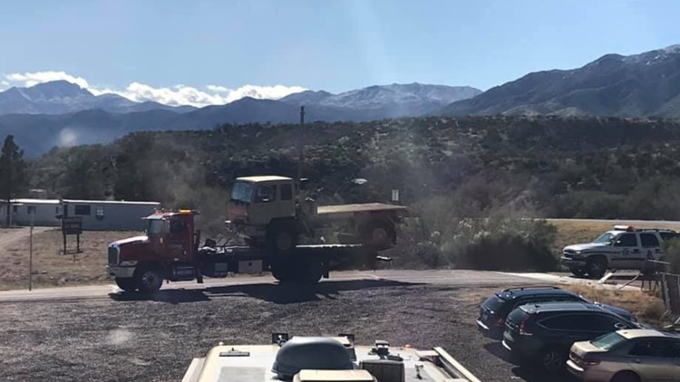 truck pulled out of tonto basin