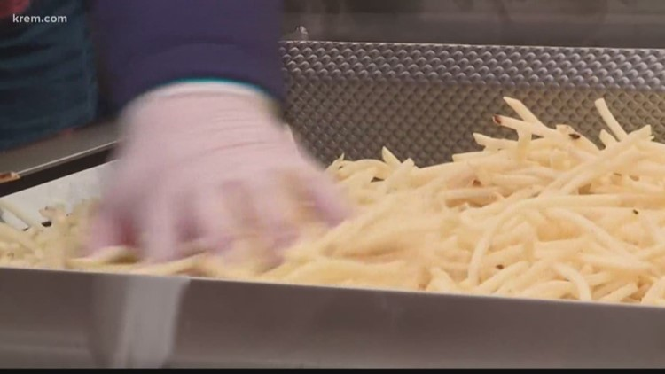 Is a bad potato harvest causing a french fry shortage in Idaho?