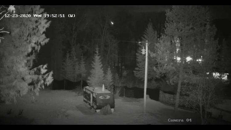 VIDEO: Meteor falls from the sky in Idaho