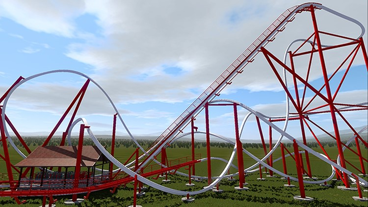 A new rollercoaster will open at Silverwood in summer 2021