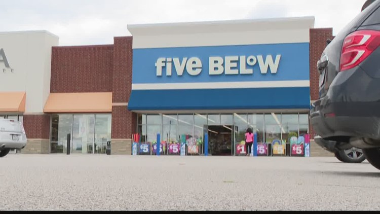 Five Below starts selling items more than $5