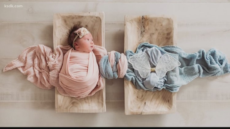Viral photo captures baby's 'guardian angel'