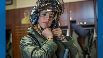 U.S. Marine captain becomes first female F-35B pilot