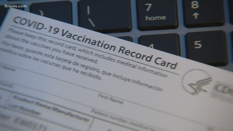 Temporary employee accused of trying to steal blank vaccination cards