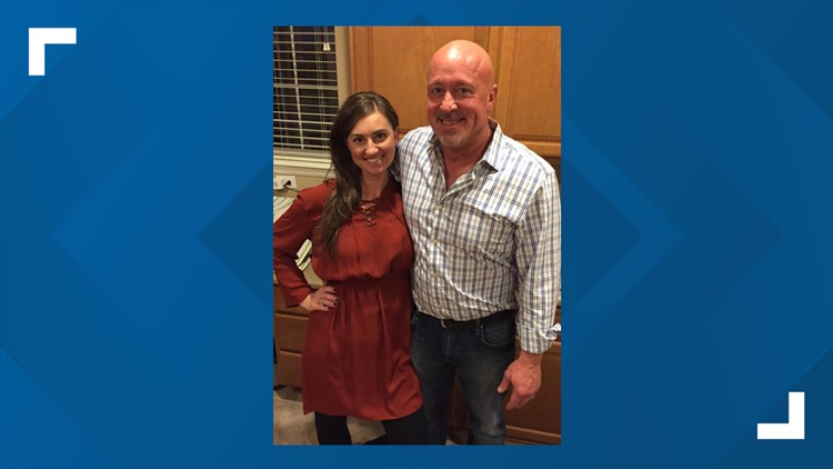 Kate Petrocco with husband David Petrocco Jr.