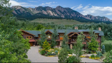 This $6.5M Boulder County luxury home is like walking into a national park lodge
