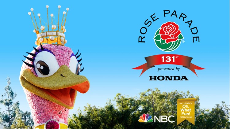 """THE 131ST TOURNAMENT OF ROSES PARADE -- Pictured: """"The 131st Tournament of Roses Parade"""" Key Art -- (Photo by: NBC)"""