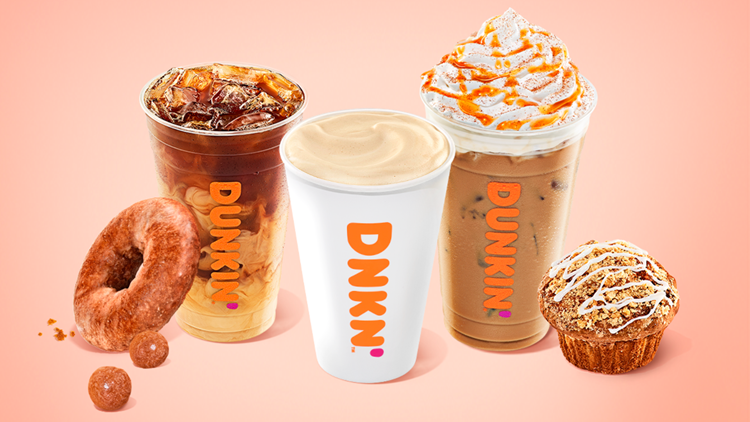 Dunkin's fall menu arriving earlier than ever next week