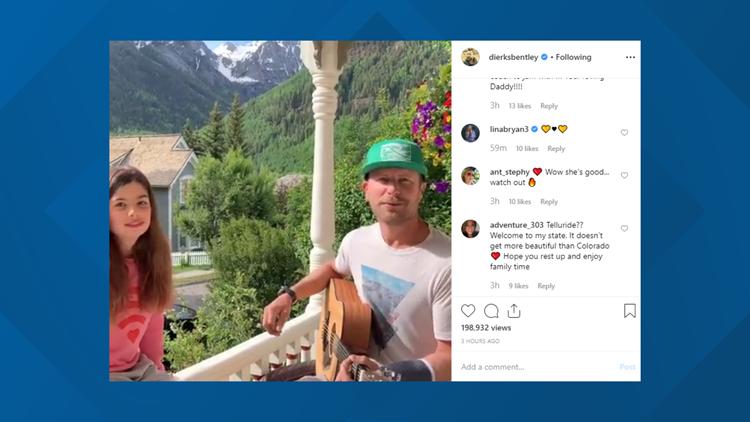 Dierks Bentley breaks hand while riding rental mountain bike in Colorado