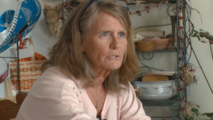 Marilyn Charlesworth, a juror convicted of lying on her questionnaire in the Michael Blagg trial, speaks to 9NEWS.