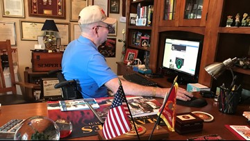Spinal cord stimulator leaves local Marine paralyzed