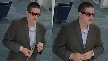 'Dapper Desperado.' FBI in search of armed robbery suspect who may be in Austin