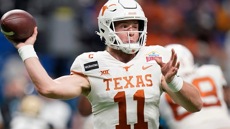 Sam Ehlinger selected 218th overall by the Colts