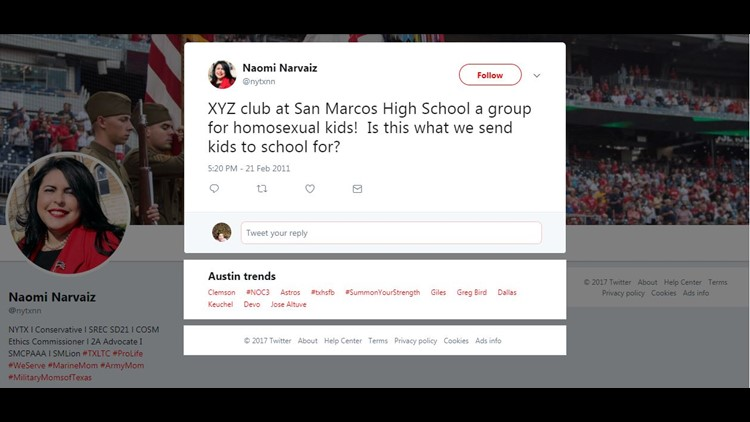 Tweets from San Marcos school board committee member cause controversy