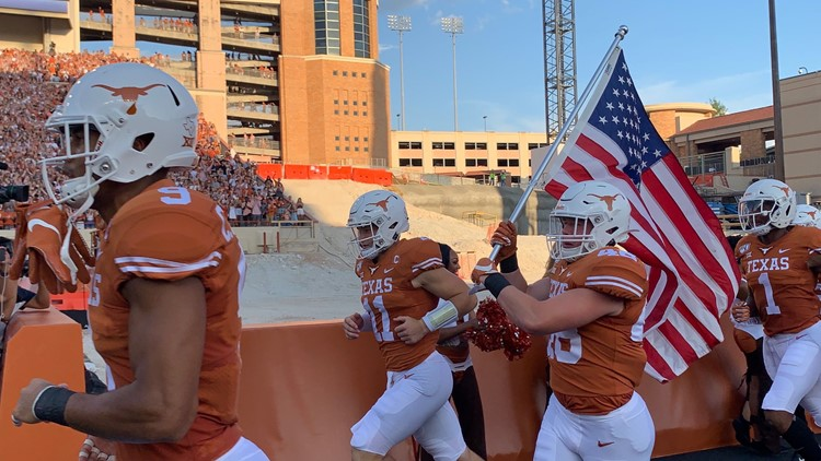 Ehlinger brothers on the field together