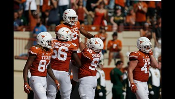 RECAP: No. 9 Texas Longhorns hold on to beat Baylor Bears 23-17, win sixth straight game