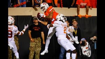 HIGHLIGHTS: No. 6 Texas Longhorns fall to Oklahoma State Cowboys, 38-35