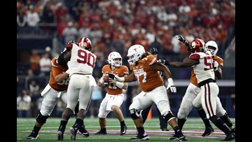 HIGHLIGHTS: No. 14 Texas Longhorns fall to No. 5 Oklahoma Sooners 39-27 in Big 12 Championship