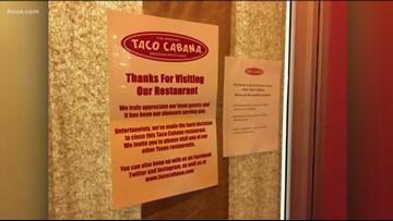Taco Cabana closing 19 Texas restaurants