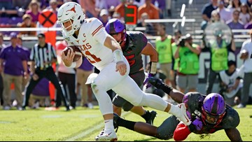Texas Longhorns fall out of AP Top 25 after TCU loss