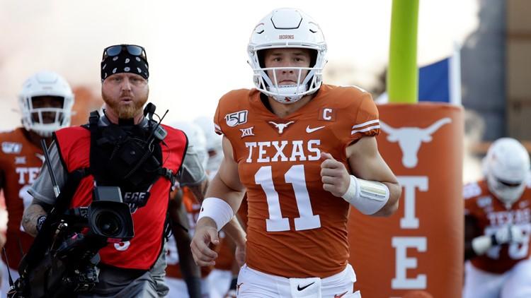 RECAP: Ehlinger leads No. 12 Texas past Oklahoma State 36-30
