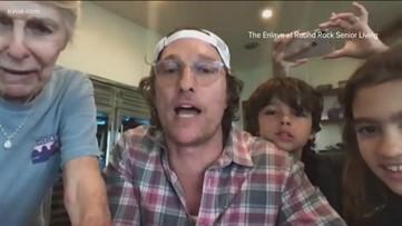 Matthew McConaughey hosts virtual bingo for Round Rock senior living community